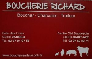 boucherie richard saint avé